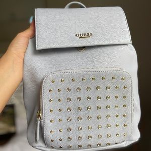Leather Guess backpack!